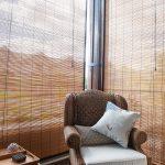 бамбуковые шторы фото оформления