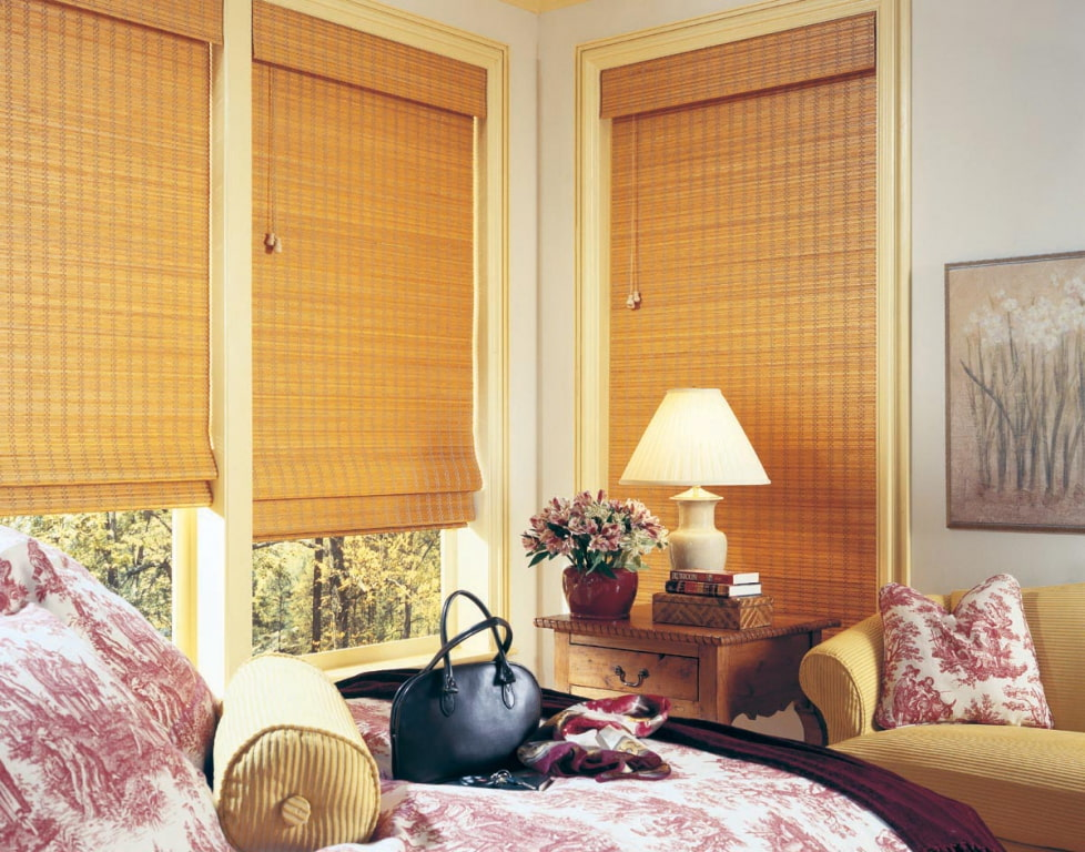 бамбуковые шторы фото варианты