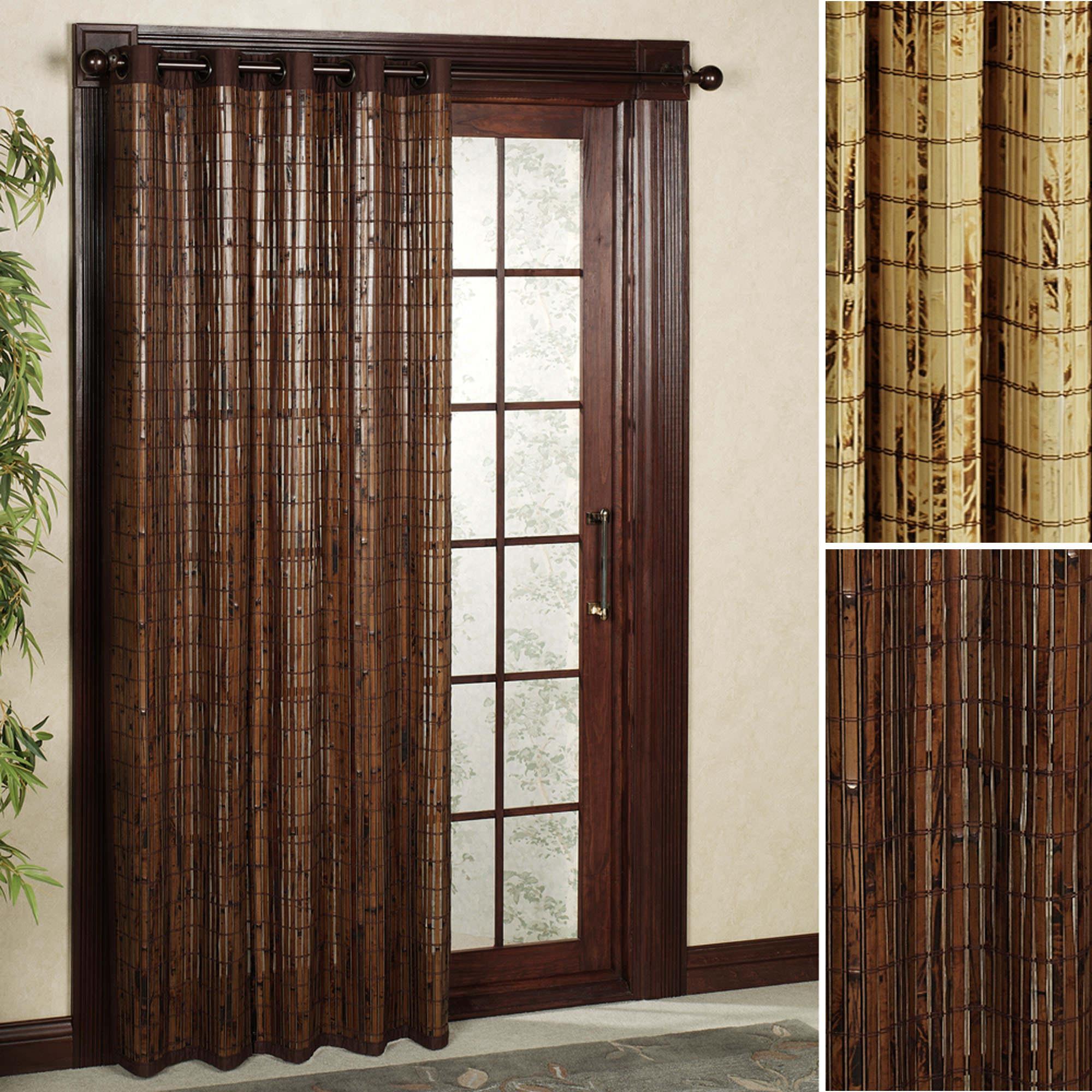 бамбуковые шторы виды фото