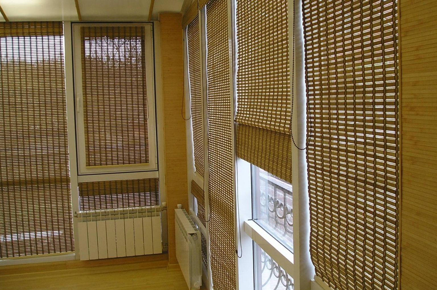 бамбуковые шторы идеи декор