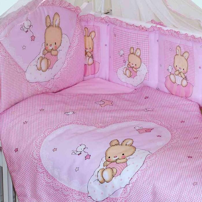 бортики в кроватку новорожденного