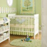 бортики для новорожденного зеленые