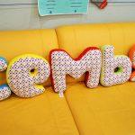 буквы подушки дизайн идеи