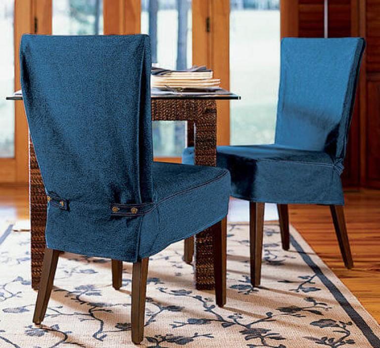 чехлы на стулья со спинкой для кухни