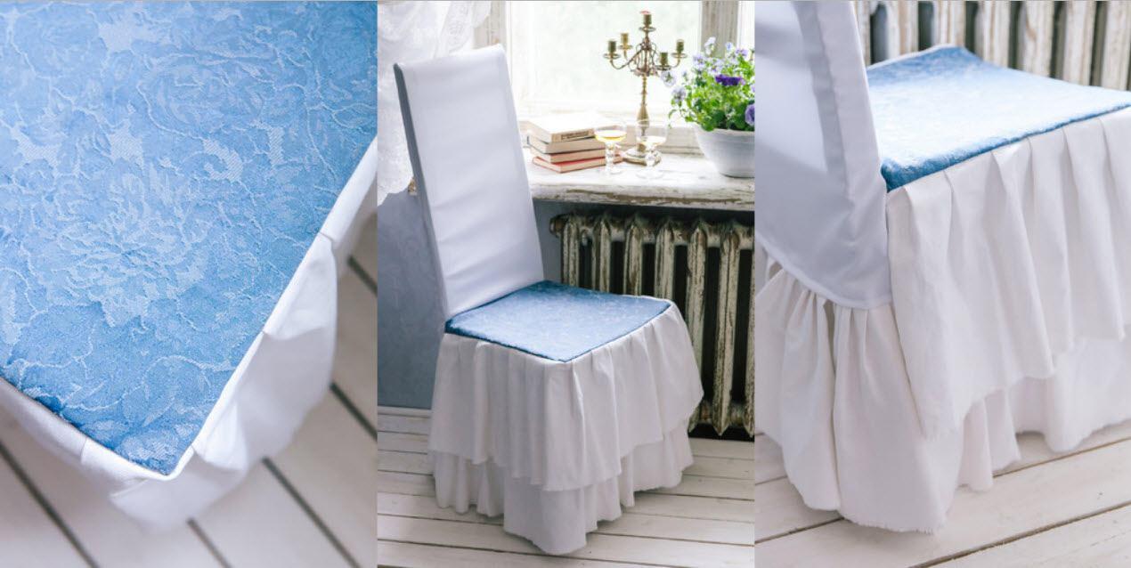 чехлы на стулья со спинкой фото