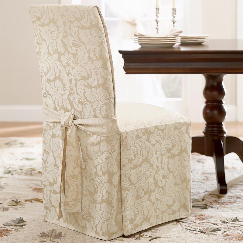 чехлы на стулья со спинкой оформление идеи