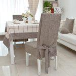 чехлы на стулья со спинками идеи оформление