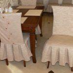 чехлы на стулья со спинками варианты фото
