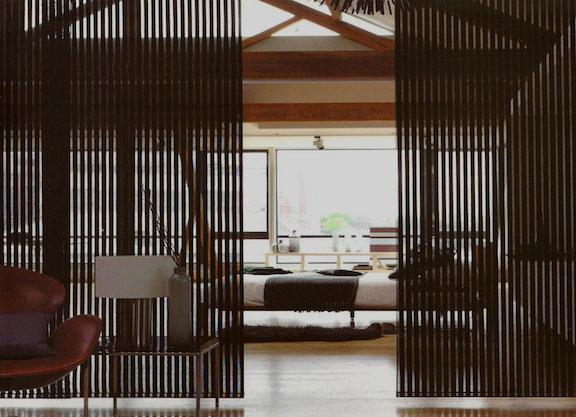 деревянные шторы фото оформление