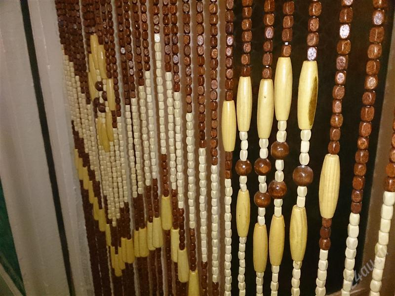 деревянные шторы интерьер фото