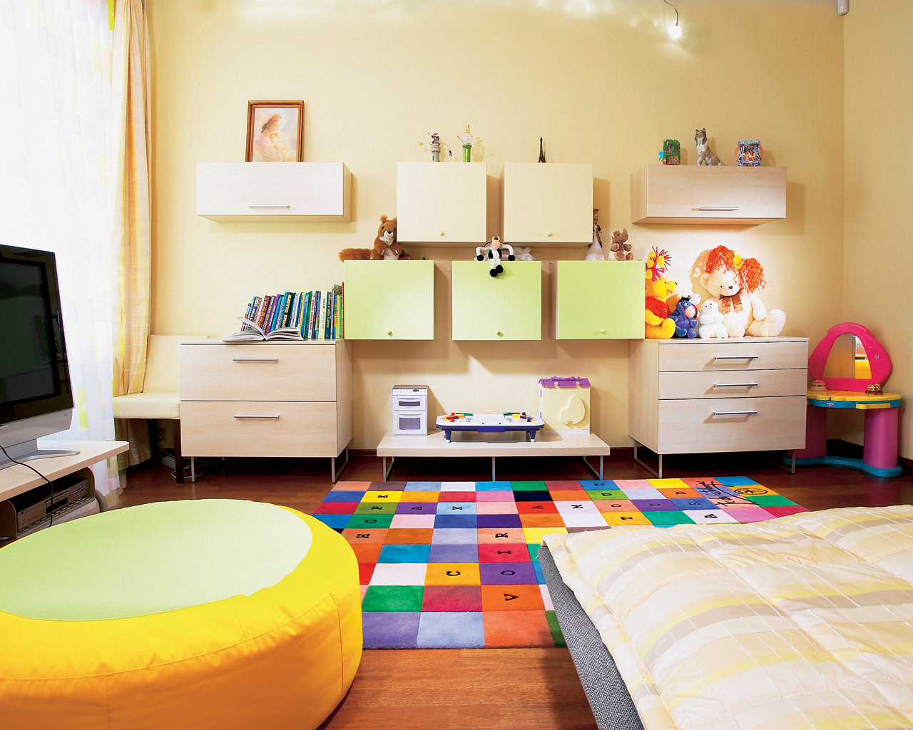 детские ковры декор идеи