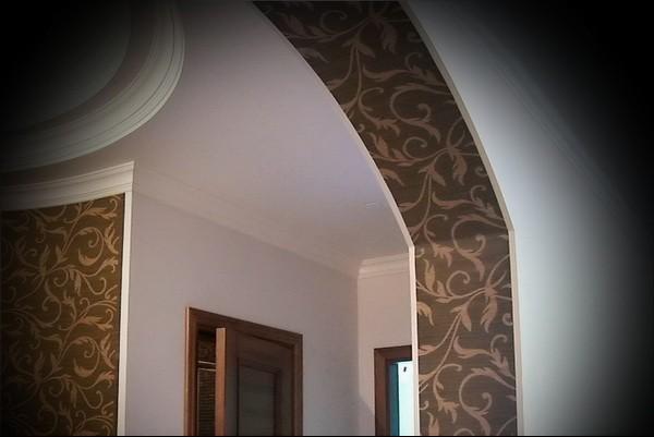дизайн арки в квартире фото идеи
