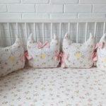 бортики для новорожденных подушки