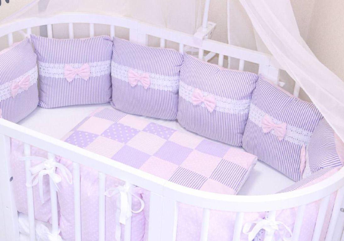 бортики в кроватки для малышей