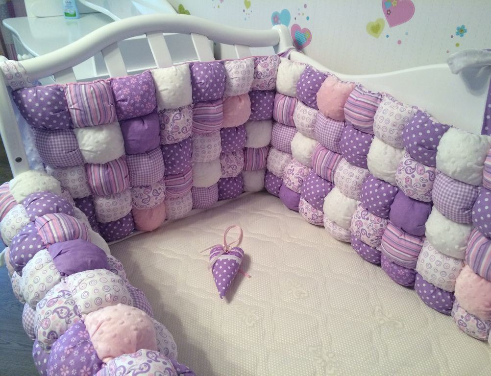 бортики в кроватку для детской
