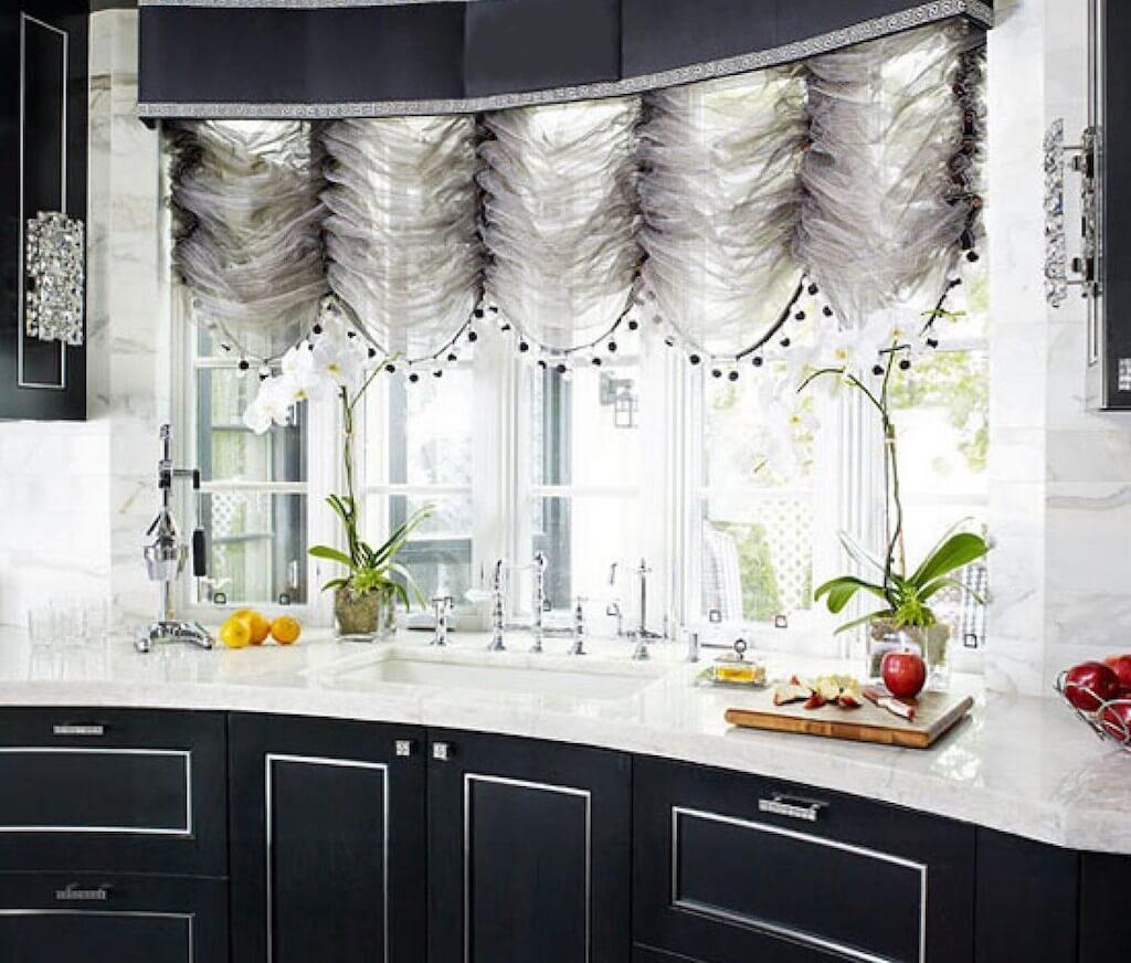 французские шторы дизайн
