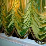 французские шторы фото интерьер