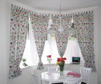 как сшить шторы на кухню дизайн