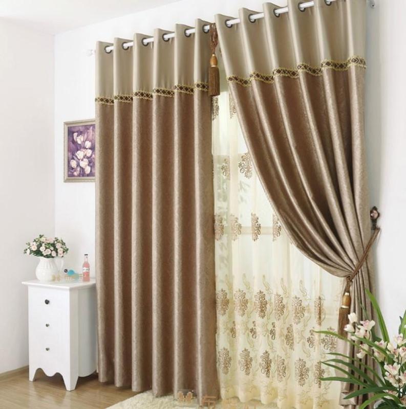 как сшить шторы своими руками фото декор