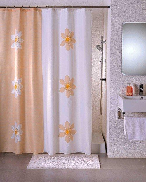 угловые шторы для ванной выбор