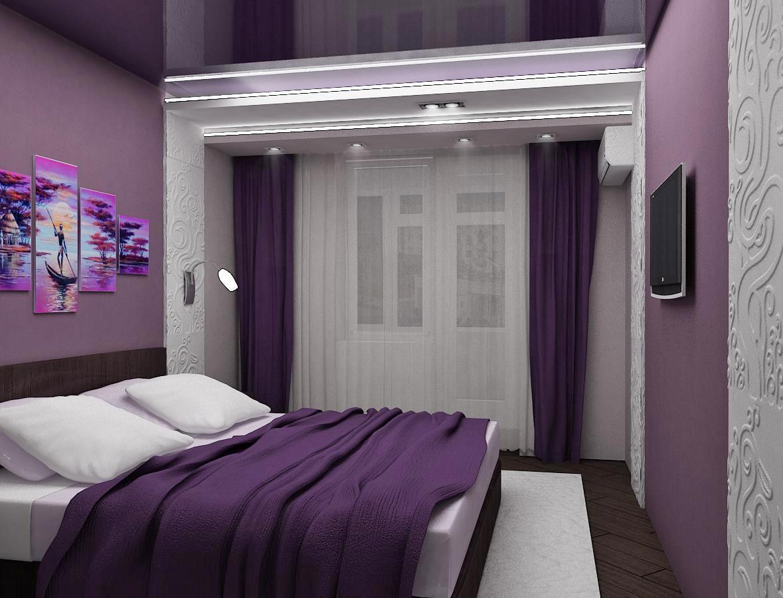 комплект из штор и покрывала для спальни фото оформления