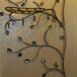 кованые вешалки в прихожей декор идеи