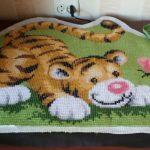 ковровая техника вышивания идеи фото