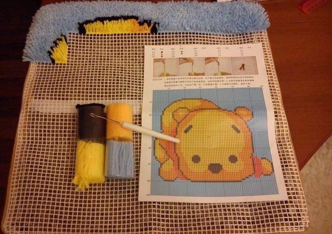 ковровая вышивка набор