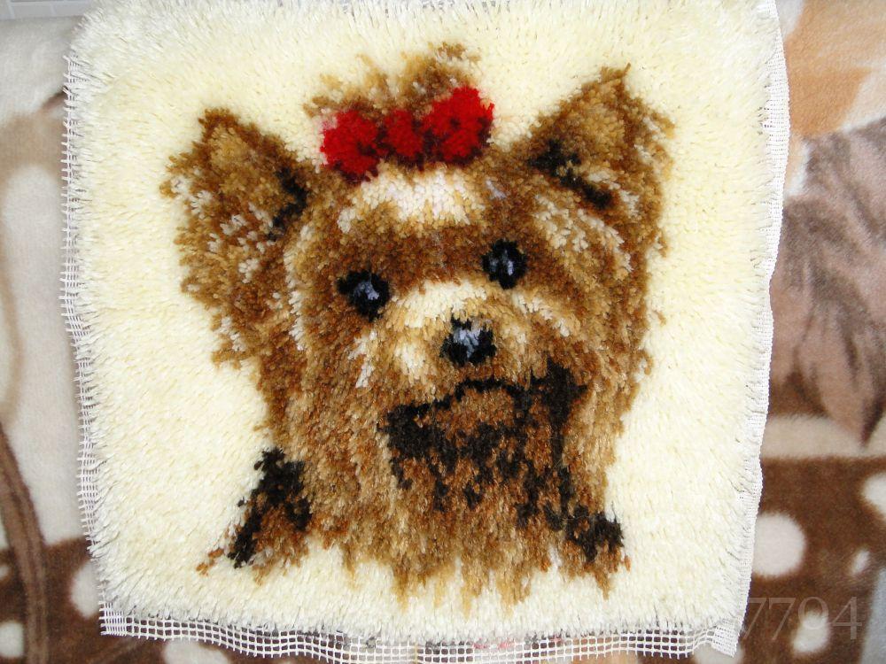 ковровая вышивка узелковая