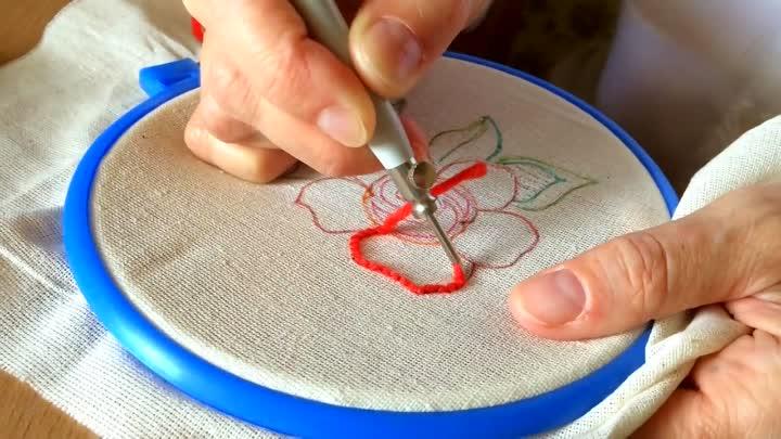 ковровая вышивка петли фото