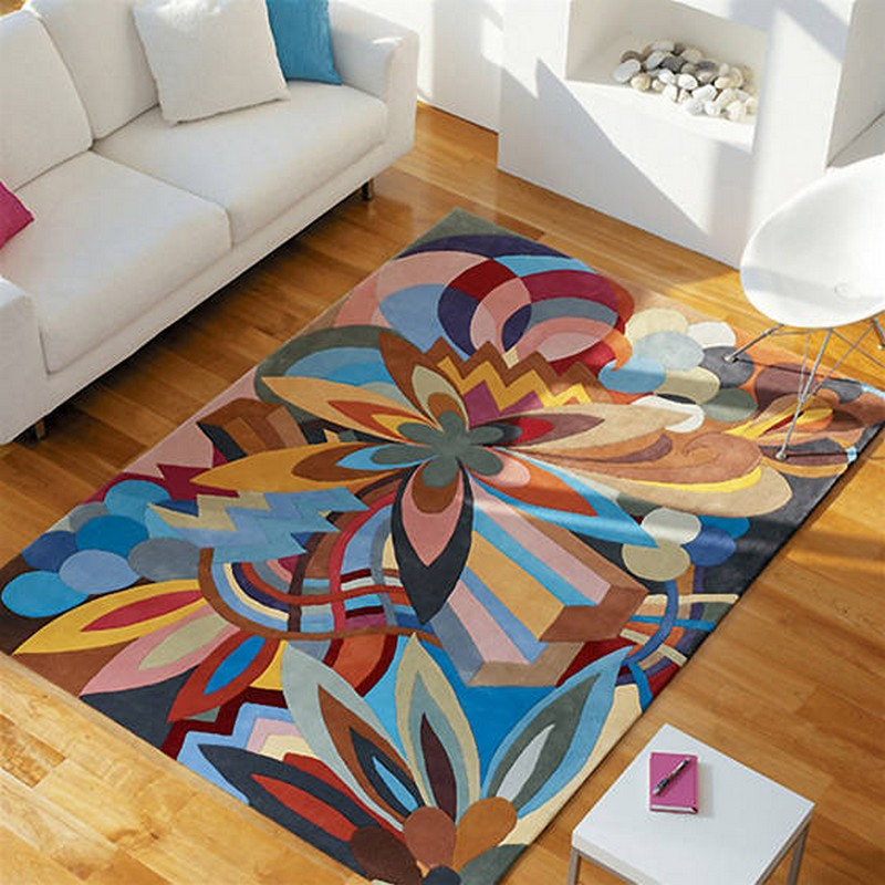 ковры в интерьере фото идеи