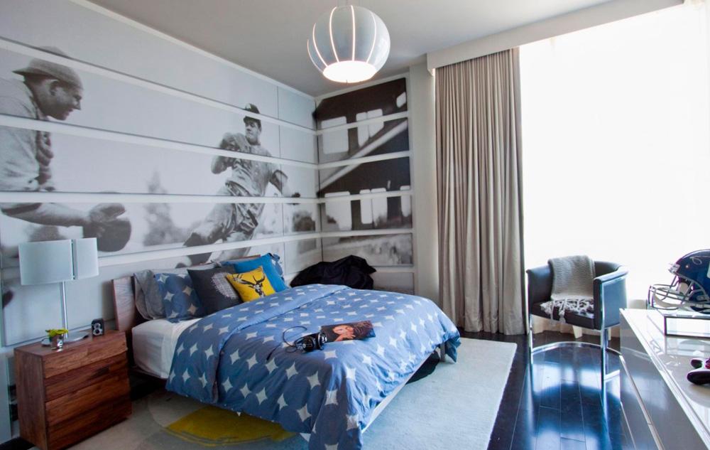 красивые шторы в комнату подростка мальчика