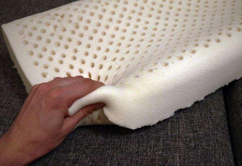 латексные подушки виды