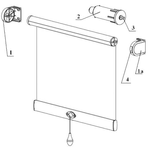 механизм для рулонных штор