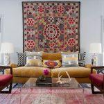 персидские ковры в интерьере