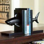 подставка держатель для книг акула