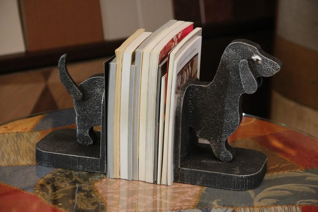 подставка держатель для книг такса