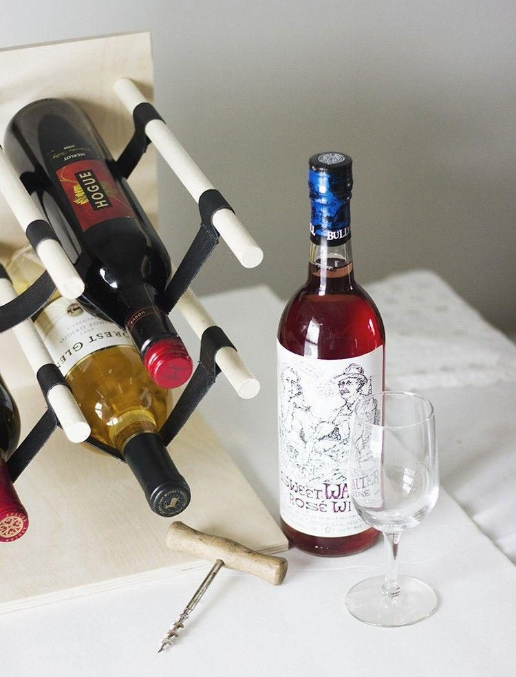 подставка для винных бутылок фото вариантов
