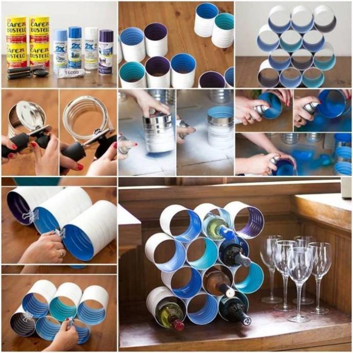 подставка для винных бутылок идеи декор