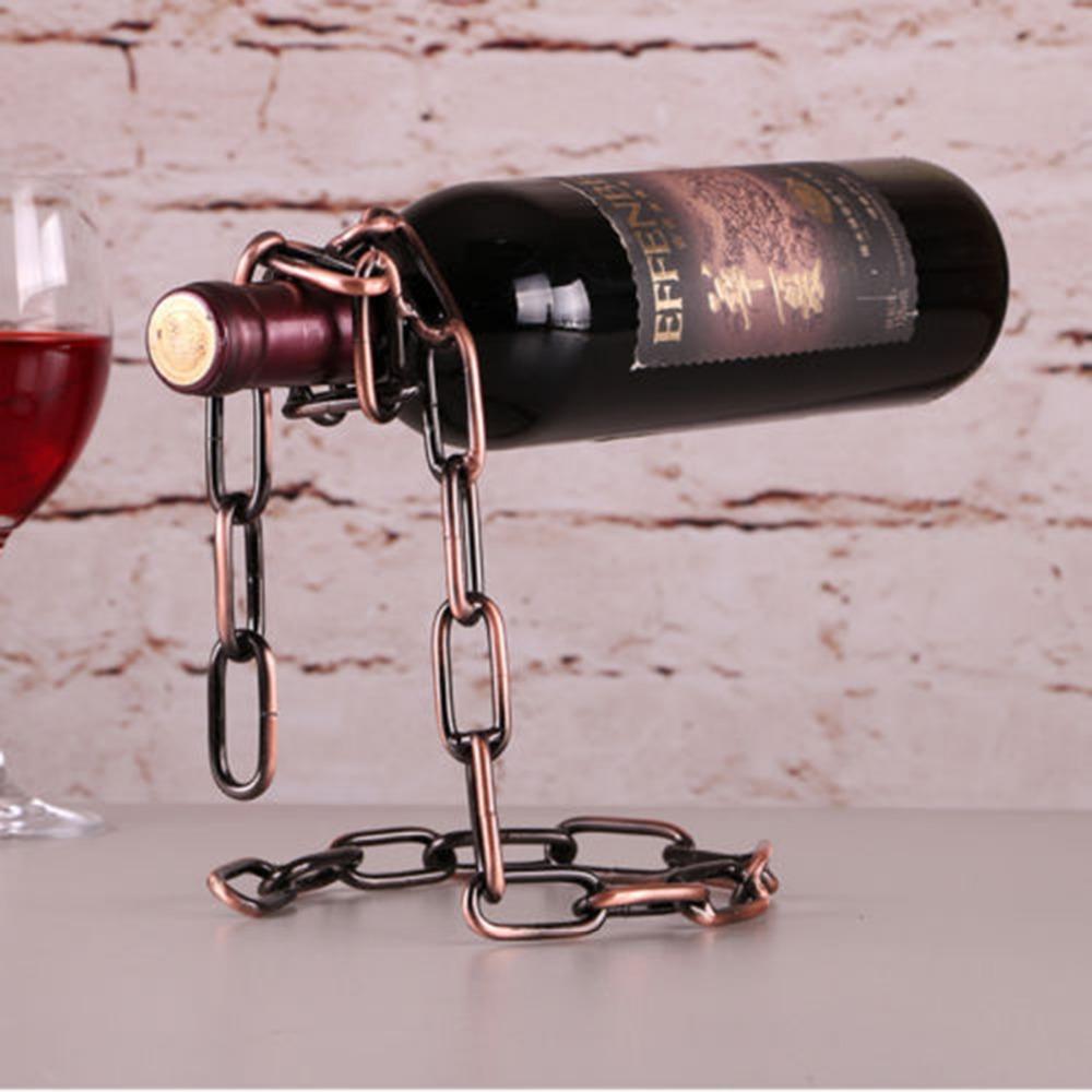 подставка для винных бутылок оформление идеи