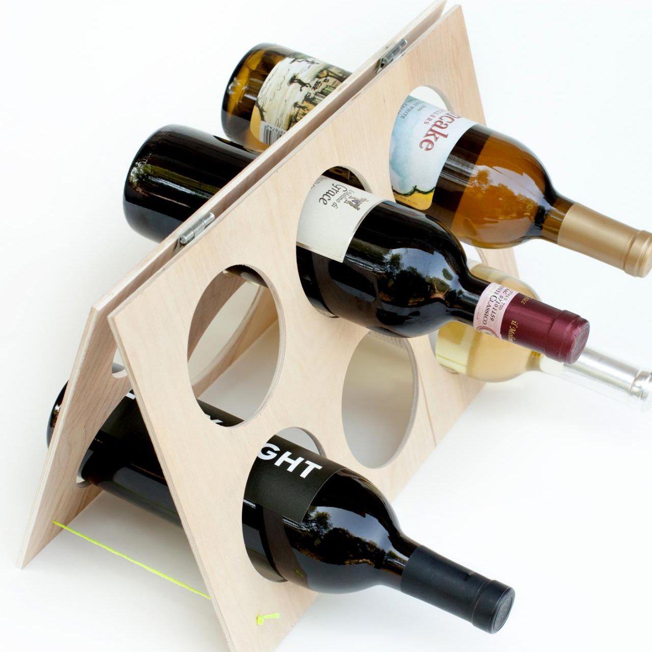 подставка для винных бутылок варианты идеи
