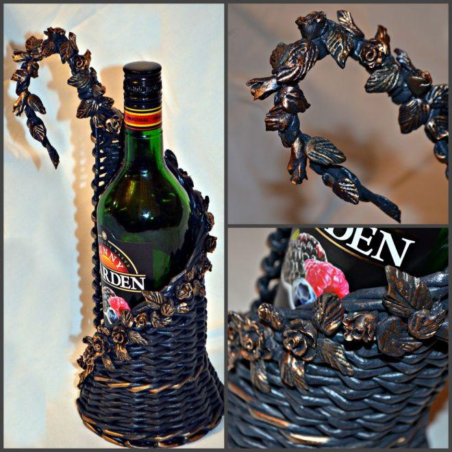 подставка для винных бутылок виды идеи