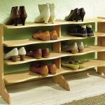 подставка для обуви идеи декор