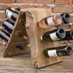 подставка для винных бутылок фото декор