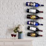 подставка для винных бутылок фото идеи