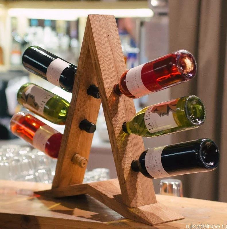 подставка для винных бутылок идеи