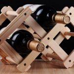 подставка для винных бутылок идеи оформление