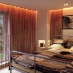 подсветка штор и потолка