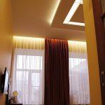 подсветка штор светодиодной лентой декор