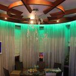 подсветка штор светодиодной лентой идеи декора